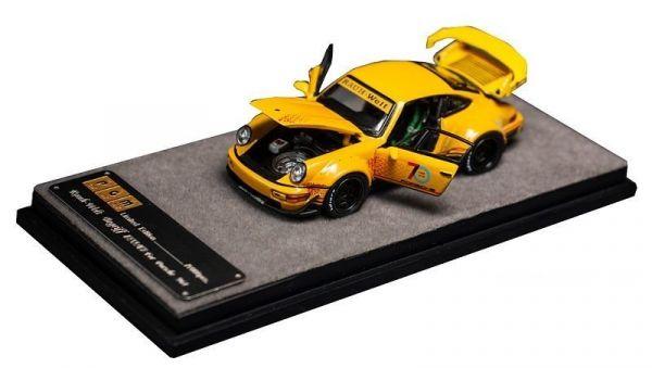 Motorhelix 1/64 保時捷Porsche RWB 964 70th 黃色 合金完成品 Motorhelix,1/64,保時捷,Porsche RWB 964 70th