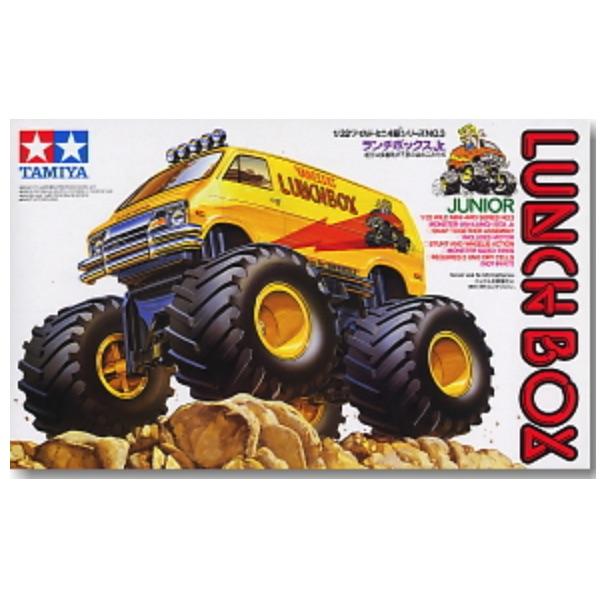 [缺貨再到] TAMIYA 田宮1/32 #17003 迷你四驅車 Lunch Box Jr. 便當大腳車 TAMIYA, 田宮,1/32,17003,迷你四驅車,Lunch Box Jr.
