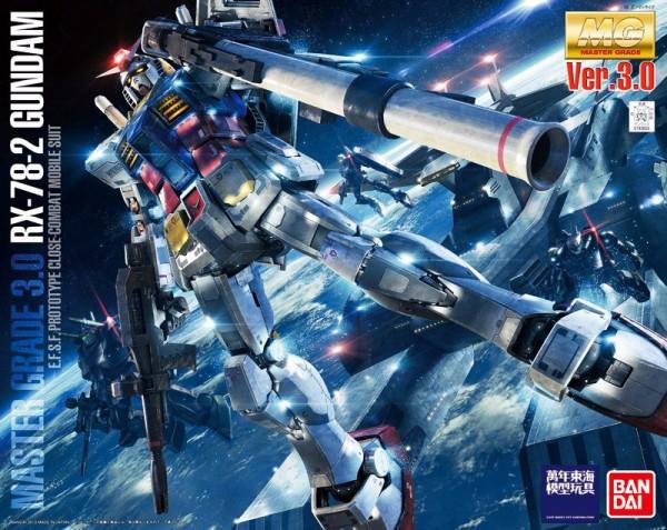 [7月再販] BANDAI MG 1/100 RX-78-2 Ver. 3.0 初代鋼彈 機動戰士鋼彈 組裝模型 初鋼,RX-78-2