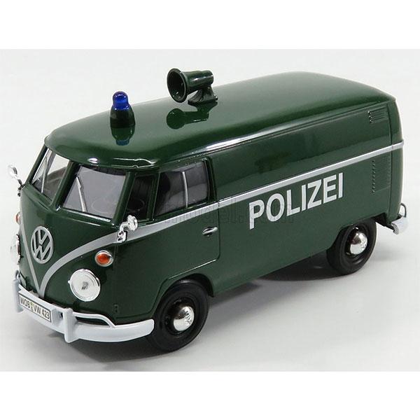 Motormax / 1/24 / 福斯警察車 / Volkswagen Type 2 T1 Polizei 合金完成品 Motormax,1/24,福斯,警察車,Volkswagen Type 2 T1 Polizei