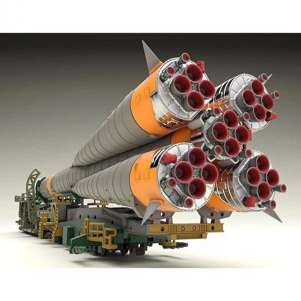 [再販] GOOD SMILE 1/150 聯合號運載火箭 & 搬運列車 附衛星 精密彩色塑膠組裝模型 GOOD,SMILE,1/150,聯合號運載火箭,&,搬運列車,附衛星, 精密彩色塑膠,模型,