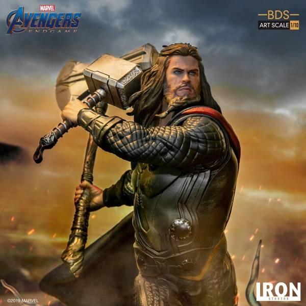 Iron Studios / 1/10 / 漫威 / 復仇者聯盟 : 終局之戰 / 雷神索爾 雕像 Iron Studios,1/10,漫威,復仇者聯盟 : 終局之戰,雷神索爾