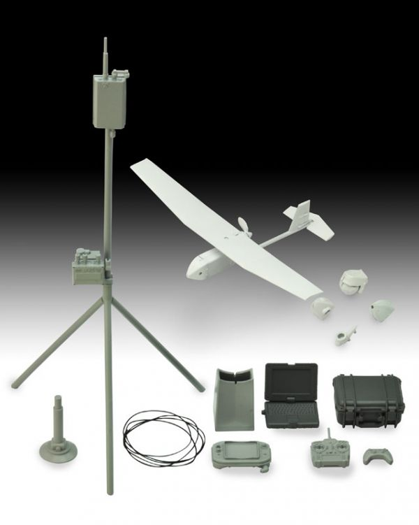 TOMYTEC 1/12 UAV無人偵察機&機材組 組裝模型 TOMYTEC,1/12,UAV,無人偵察機,&,機材組,組裝模型,