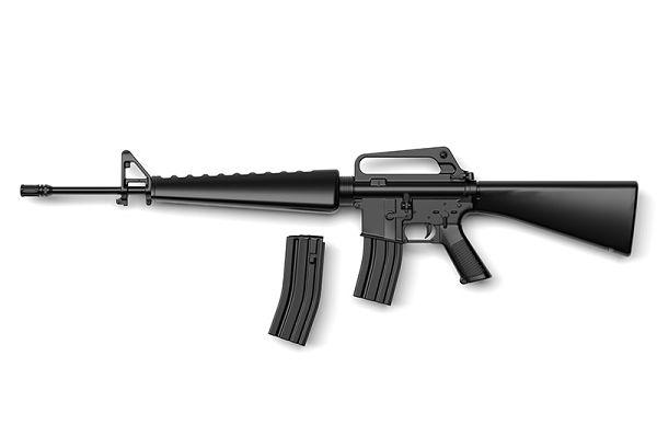TOMYTEC 1/12 迷你武裝 Little Armory LADF06 少女前線 M16A1 Type 組裝模型 TOMYTEC,迷你武裝,1/12, Little Armory,LADF06,少女前線 M16A1 Type
