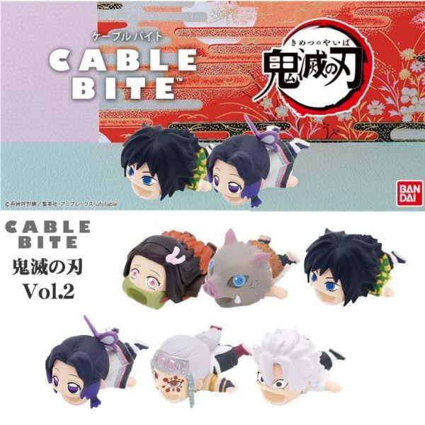CABLE BITE 鬼滅之刃 角色充電線保護套Vol.2 全6種 個別販售 CABLE BITE,鬼滅之刃,角色充電線保護套Vol.2