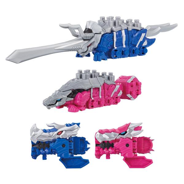 BANDAI 騎士龍戰隊 02.03 DX 戰錘龍 & 三角龍 套組 BANDAI,騎士龍戰隊, DX,戰錘龍,三角龍