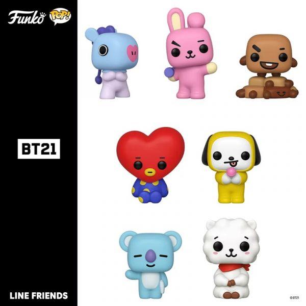 FUNKO POP Line Friends BT21 角色公仔 BTS 防彈少年團 全7種 個別販售 POP,Line Friends,BT21,公仔,BTS,防彈少年團