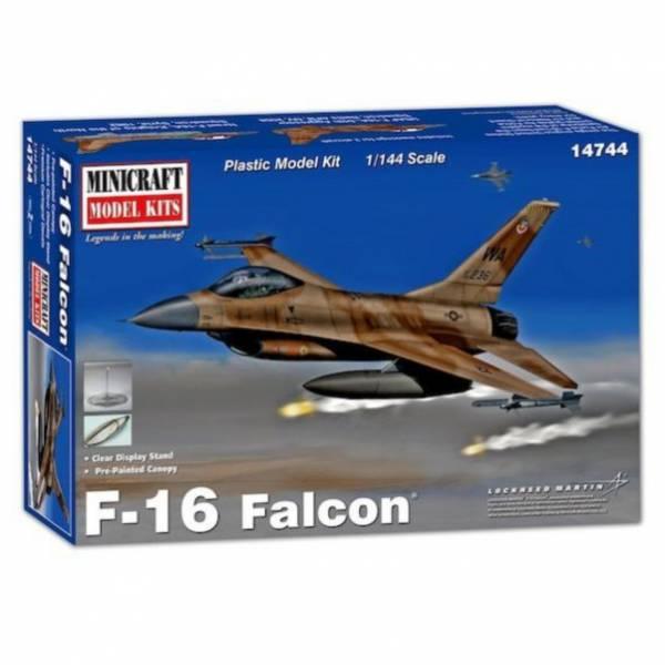 Minicraft 1/144 美國空軍 F-16A Falcon 戰隼戰鬥機 組裝模型  Minicraft,1/144,美國空軍,F-16A Falcon,戰隼戰鬥機