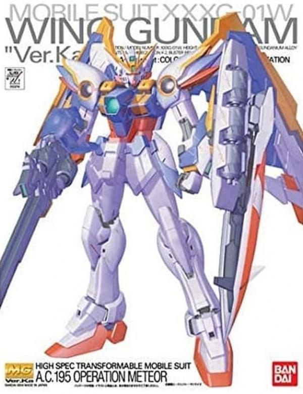 [9月再販] BANDAI MG 1/100 XXXG-01W 飛翼鋼彈 Ver.Ka  新機動戰記鋼彈W MG,1/100,XXXG-01W,飛翼鋼彈,Ver.Ka,新機動戰記鋼彈W