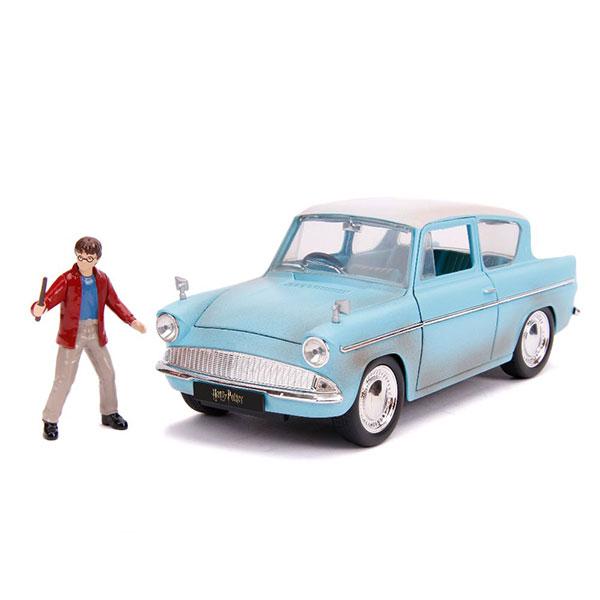 JADA / 1/24 / 哈利波特 Ford Anglia 1959 含人偶 合金車 JADA,1/24,哈利波特,Ford Anglia,合金車