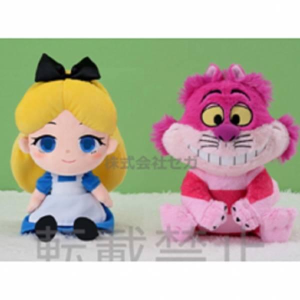 SEGA 景品 迪士尼 愛麗絲&柴郡猫 70th 絨毛玩偶 全2種販售 SEGA,景品,迪士尼,愛麗絲,&,柴郡猫,70th,絨毛,玩偶, 全2種販售,