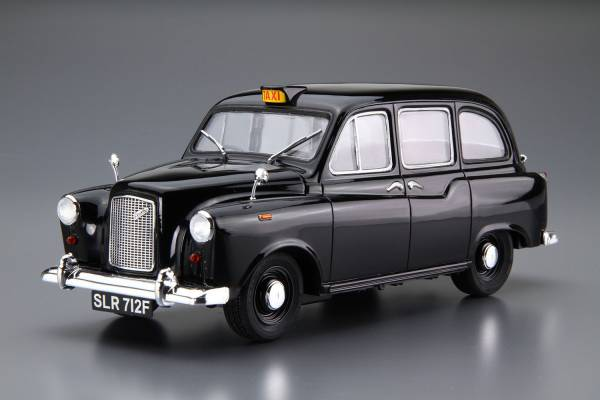 AOSHIMA / 1/24 / Austin FX4 / 倫敦計程車 1968年式樣 組裝模型 AOSHIMA,1/24,Austin FX4,倫敦計程車,1968年式樣,組裝模型