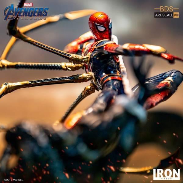 Iron Studios / 1/10 / 漫威 / 復仇者聯盟 : 終局之戰 / 鋼鐵蜘蛛人 Vs 饕餮 Iron Spider Vs Outrider 雕像 Iron Studios,1/10,漫威,復仇者聯盟 : 終局之戰,饕餮,General Outrider,Iron Spider,鋼鐵蜘蛛人