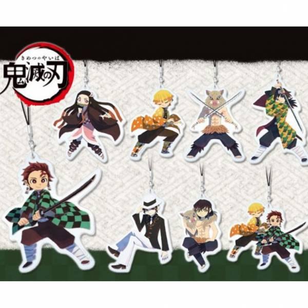 Kotobukiya 人物收藏 鬼滅之刃壓克力吊飾 創作者ver. 全8種 一中盒8入販售 Kotobukiya,壽屋,人物收藏,鬼滅之刃,壓克力吊飾,創作者ver.