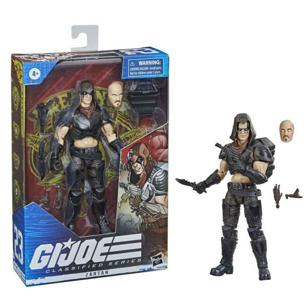 Hasbro 孩之寶 6吋 G.I.Joe CS FIGURE ZARTAN 撒旦 可動公仔  Hasbro,孩之寶,6吋,G.I.Joe,CS,FIGURE,ZARTAN,撒旦,可動,公仔,