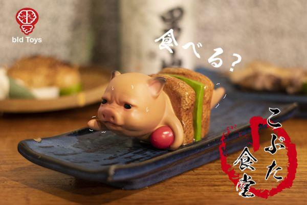 Bid Toys / 粗豬食堂 / 串燒豬 YAKI 含托盤 Bid Toys,粗豬食堂,串燒豬,YAKI