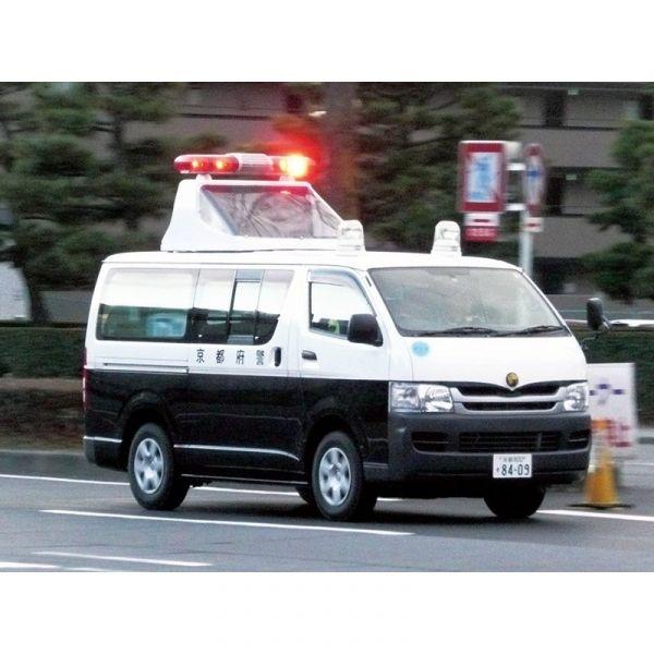 AOSHIMA / 青島 / 1/24 / TOYOTA豐田 TRH200V HIACE '07  交通事故處理車 組裝模型 AOSHIMA,青島,1/24,TOYOTA,豐田,警車,TRH200V HIACE '07交通事故