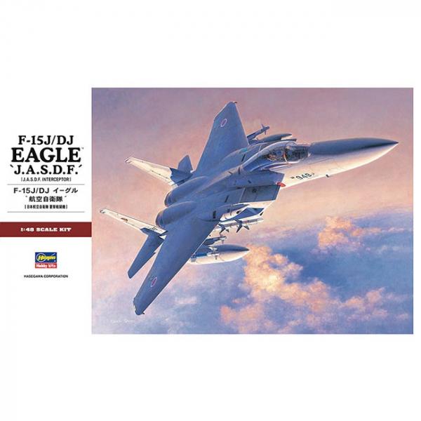 HASEGAWA / 1/48 / 日本航空自衛隊 F-15J/DJ 鷹式戰鬥機 組裝模型 HASEGAWA,1/48,日本航空自衛隊,F-15J/DJ,鷹式戰鬥機