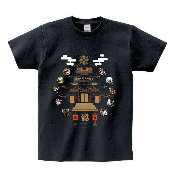 CAPCOM 魔物獵人Rise T Shirt 魔物Icon 黑色 CAPCOM,魔物獵人,Rise,T Shirt,魔物,Icon,黑色,