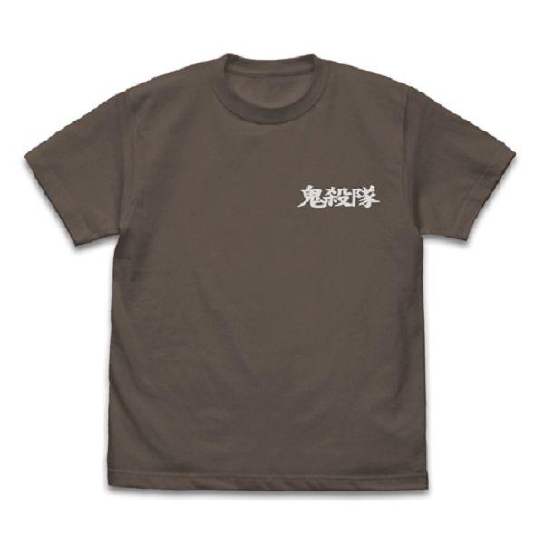 COSPA 鬼滅之刃 鬼殺隊 隱 短袖T恤 炭色 COSPA,鬼滅之刃,惡鬼滅殺,隱,短袖T恤