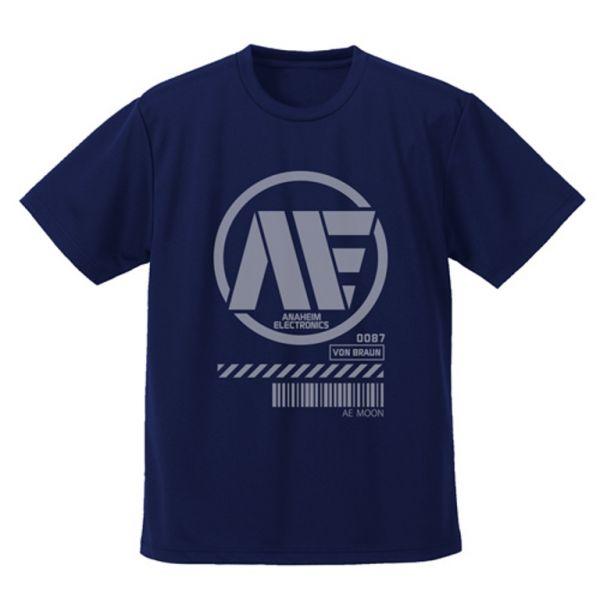COSPA 機動戰士鋼彈 亞納海姆電子產業聯合體 短袖T恤 海軍藍色  COSPA 機動戰士鋼彈 亞納海姆電子產業聯合體 短袖T恤 海軍藍色