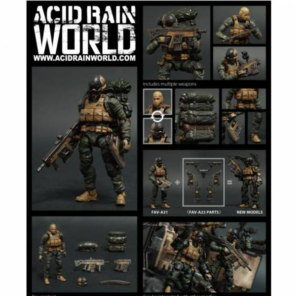 Toys Alliance 1/18 酸雨戰爭 FAV-A31 魚鷹突擊兵 Toys Alliance,1/18,酸雨戰爭,FAV-A31,魚鷹突擊兵