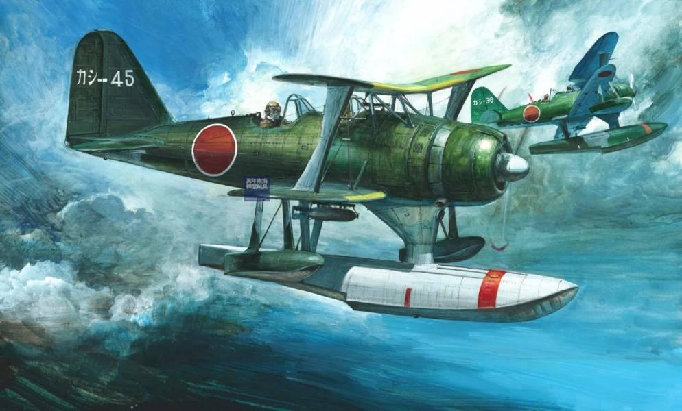 1/72 零式水上觀測機 11型 長門搭載機 鹿島航空隊 FUJIMI C12EX2 三菱 富士美 組裝模型 FUJIMI,艦上戰鬥機,水偵,長門,搭載機,零式,鹿島航空隊,