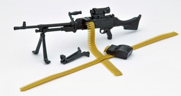 Tomytec / 1/12 / 迷你武裝 / LA006 MK24G型 機槍 Tomytec,1/12,迷你武裝,LA006,MK24G型機槍