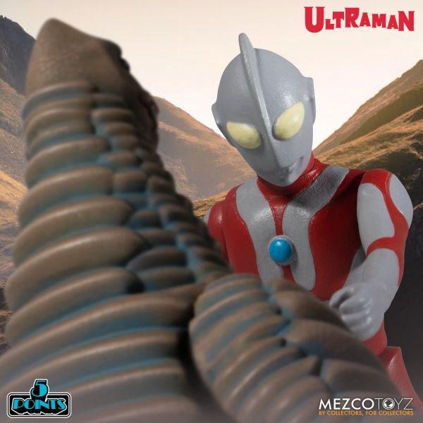 MEZCO TOYZ 5 Points 超人力霸王&紅王 可動模型 套組 MEZCO,TOYZ,5,Points,超人力霸王,&,紅王,可動,模型,套組,