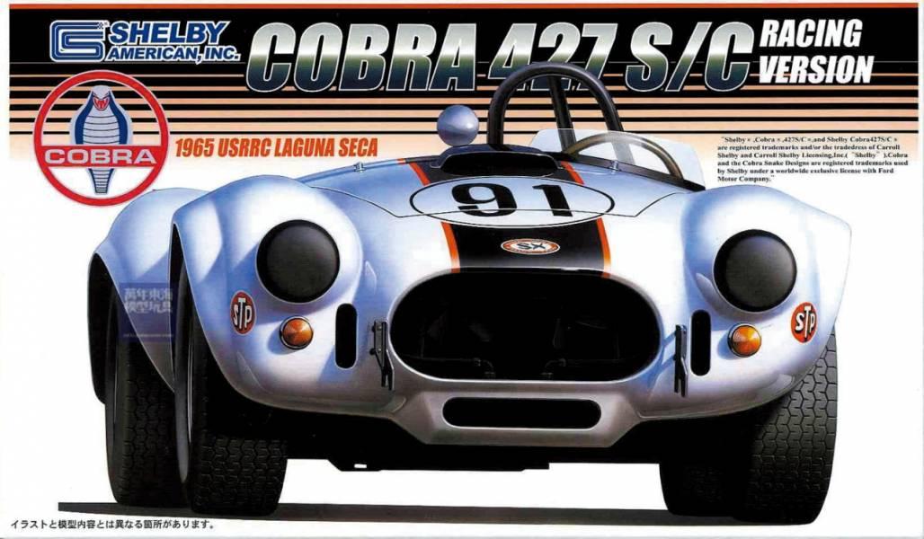 1/24 SHELBY COBRA 427 S/C 1965 USRRC 拉古納塞卡賽道 FUJIMI RS56 富士美 組裝模型 FUJIMI,1/24,RS,SHELBY,COBRA,427,S/C