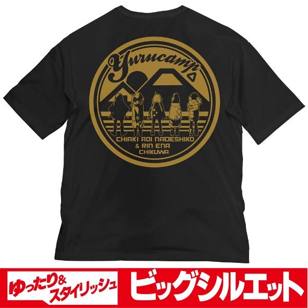 COSPA 搖曳露營△ 大尺寸黑T恤  COSPA,搖曳露營,大尺寸黑T恤,