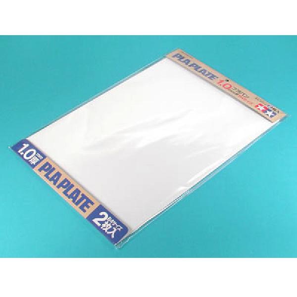 TAMIYA 田宮 #70124 白色改造板2入 B4尺寸 1.0mm 厚 TAMIYA, 田宮, 70124, 白色改造板, B4尺寸, 1.0mm 厚