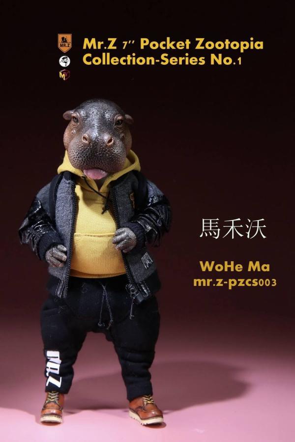 Mr.Z / 老朱 / 口袋動物城系列 第一彈 / 河馬 馬禾沃 Pocket Zootopia Collection No.3 Mr.Z,老朱,口袋動物城系列,第一彈,河馬,馬禾沃, Pocket Zootopia Collection No.3