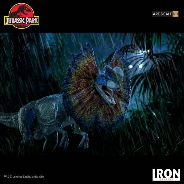 Iron Studios 1/10 侏儸紀公園 雙冠龍 雕像 Jurassic Park Dilophosaurus Art Iron Studios,1/10,侏儸紀公園,雙冠龍,Jurassic Park Iron Studios 1/10 侏儸紀公園 雙冠龍 雕像 Jurassic Park Dilophosaurus Art
