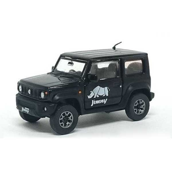 TINY / 1/64 / 鈴木汽車 / Suzuki Jimny Sierra JB74 / 珍珠黑 附備胎 / 完成品 TINY,1/64,鈴木汽車,Suzuki Jimny Sierra JB74,珍珠黑,附備胎,完成品