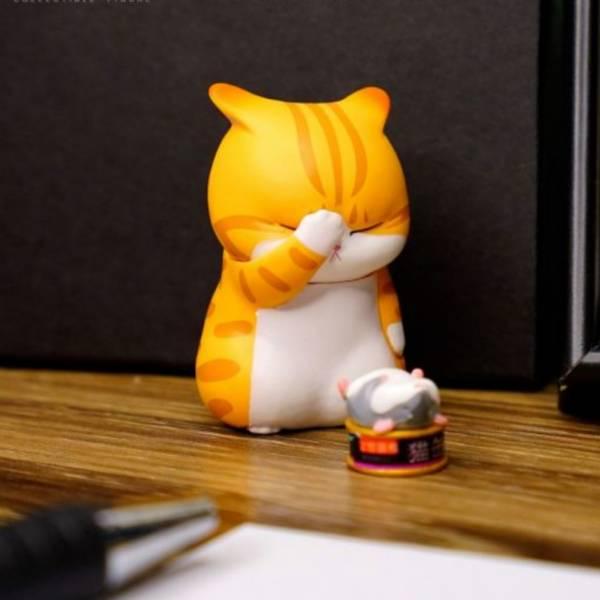 LAM TOYS / 盒玩 / 苦惱貓 / 全9種 一中盒9入販售 LAM TOYS,盒玩,苦惱貓