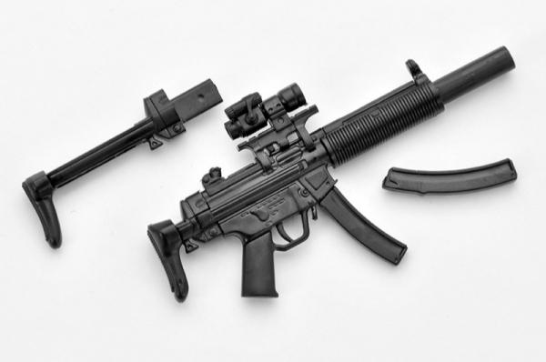 Tomytec / 1/12 / 迷你武裝 / LA026 MP5 衝鋒槍 Tomytec,1/12,迷你武裝,LA026,MP5衝鋒槍