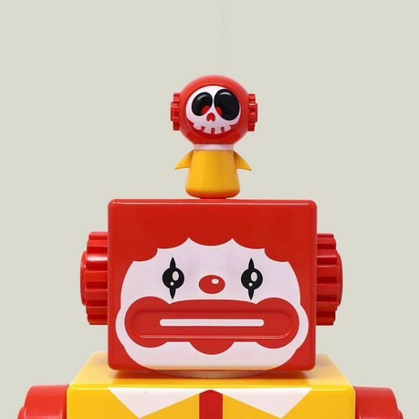 [全球限量] ZCWO / OBOT / HAPPY CLOWN 快樂小丑 ZCWO,OBOT,HAPPY CLOWN,快樂小丑