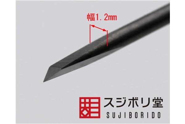 SUJIBORIDO BMC 雕刻刀 三角 1.2mm SUJIBORIDO,BMC,雕刻刀,1.2mm,三角,