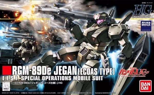 HGUC 1/144 #123 RGM-89E ECOAS 特務型 傑鋼 126797 機動戰士鋼彈UC