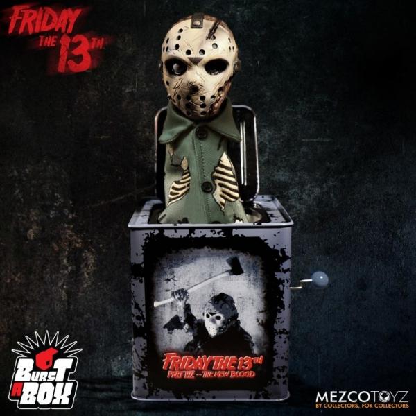 MEZCO TOYZ / 十三號星期五 / 傑森 Jason Voorhees / 恐怖音樂盒 MEZCO TOYZ,Friday The 13th Part VII,十三號星期五,傑森,Jason Voorhees,恐怖音樂盒