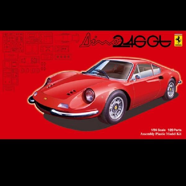 1/24 法拉利 Ferrari DINO 246GT 前期型/後期型 FUJIMI RS116 組裝模型 FUJIMI,1/24,RS,法拉利,Ferrari,DINO,246GT,前期型,後期型,組裝模型,