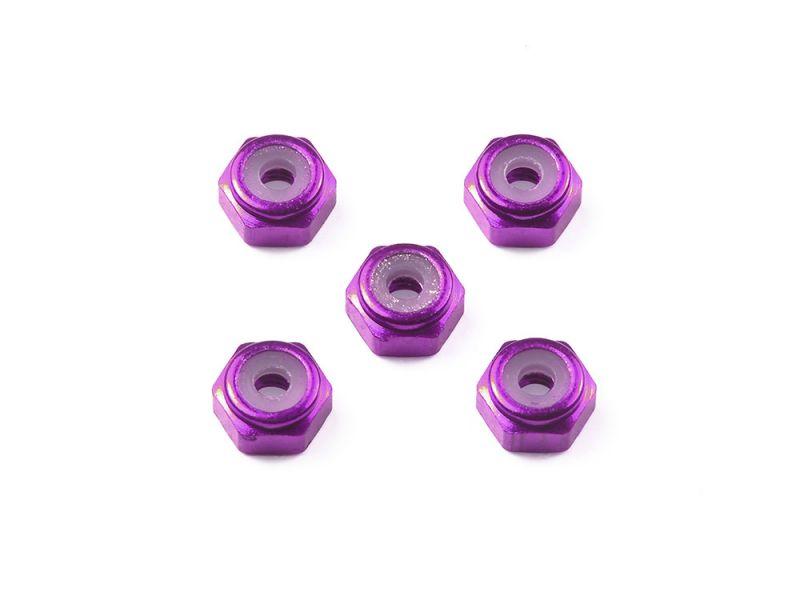 TAMIYA 田宮 #95555 迷你四驅車 軌道車 紫色防鬆螺帽 2mm Aluminum Lock Nut  田宮, TAMIYA ,95555, 迷你四驅車, 軌道車, 紫色防鬆螺帽, 2mm, Aluminum Lock Nut