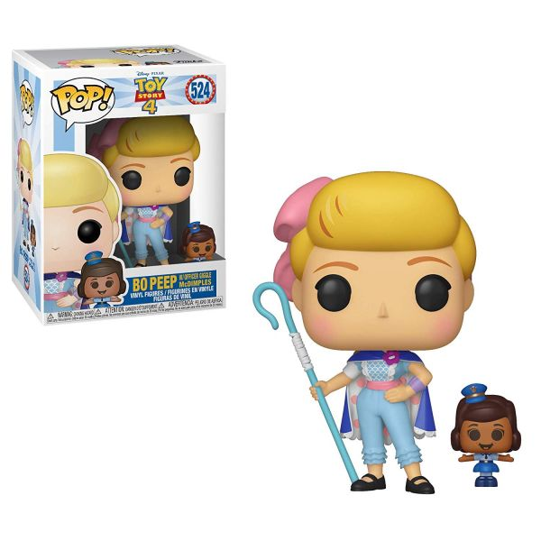 FUNKO / POP / 迪士尼 / 玩具總動員4 牧羊女寶貝 & 小女警吱吱妹 FUNKO,POP,迪士尼,玩具總動員4,牧羊女寶貝,小女警吱吱妹