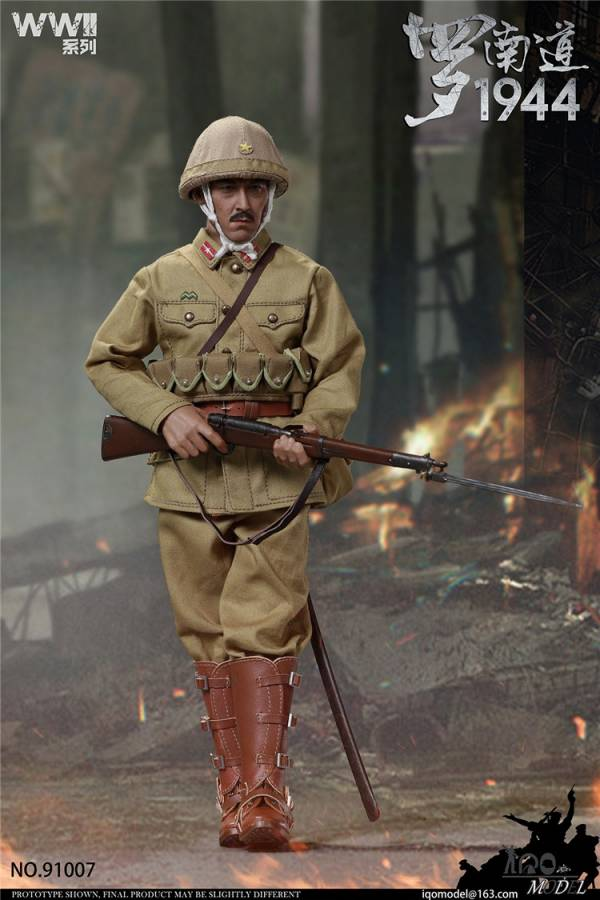 IQO Model 1/6 WWII系列 1944 羅南道 可動公仔 IQO,Model,1/6,WWII,系列,1944,羅南道,可動,公仔,