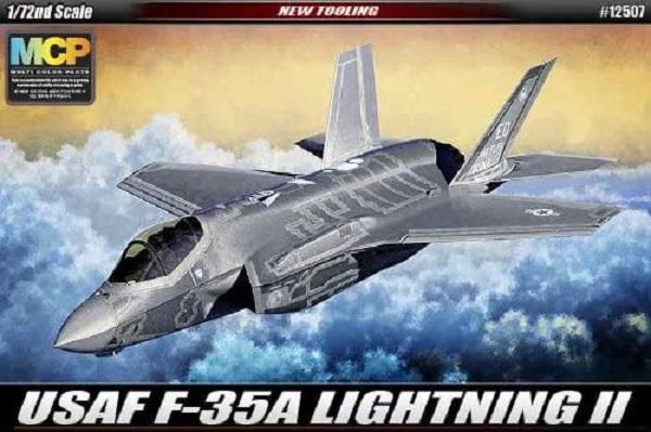 Academy 愛德美 1/72 F-35A LIGHTNING II 美國軍機 組裝模型 Academy 愛德美 1/72 F-35A LIGHTNING II 美國軍機 組裝模型