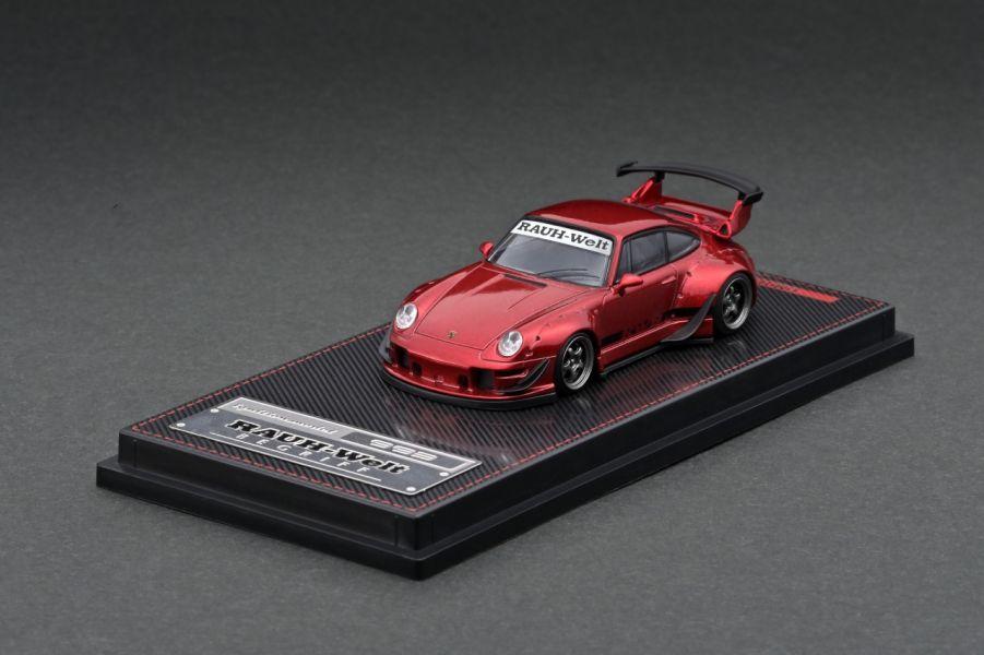 ignition model 1/64 保時捷 RWB 993 金屬紅 ignition model,1/64,保時捷,RWB,993,金屬紅,