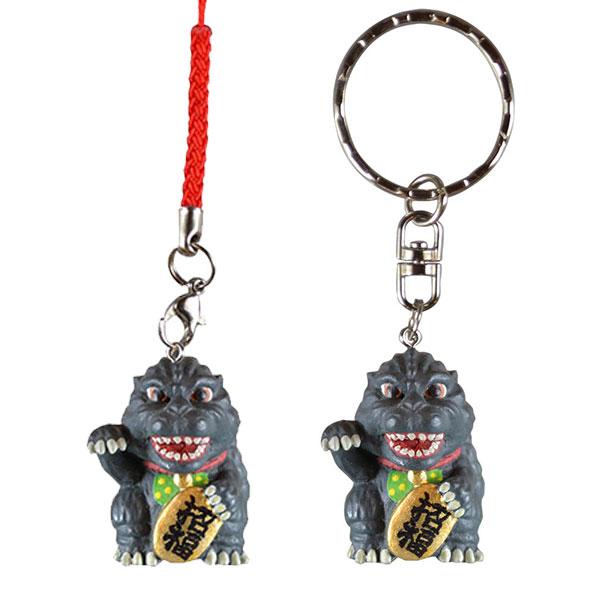 folcart 哥吉拉 招財哥吉拉 根付吊飾 鑰匙圈 分別販售 folcart,招財哥吉拉,鑰匙圈,吊飾