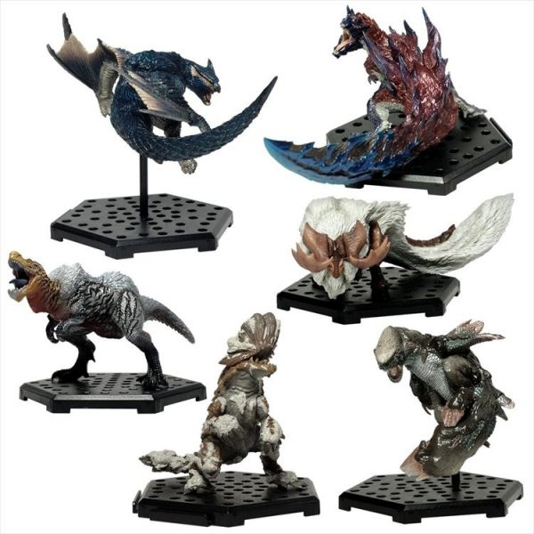 CAPCOM  盒玩  魔物獵人魔物集Plus  Vol.15  全6種 一中盒6入販售 CAPCOM,盒玩,魔物獵人魔物集Plus,Vol.15,全6種