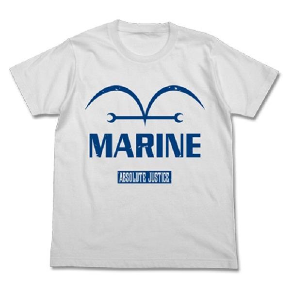 COSPA / 海賊王 / 新世界篇海軍 / 短袖T恤 / 白 COSPA,海賊王,新世界,海軍,正義,短袖,T恤,白
